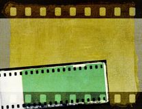 Vintage sepia film strip frame or background. Design element. Royalty Free Stock Photos