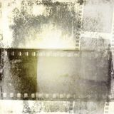 Vintage sepia film strip frame. In sepia tones Royalty Free Stock Photos