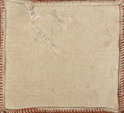 Vintage sepia toned suede texture Stock Images