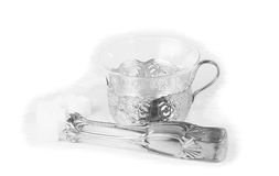 Vintage set for tea Royalty Free Stock Images