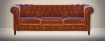 Vintage settee Stock Photos