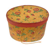 Vintage Sewing Box Stock Photo