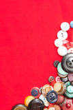 Vintage Sewing Buttons Royalty Free Stock Images