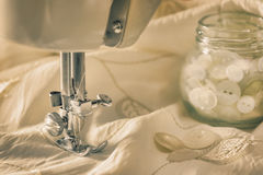 Vintage Sewing Stock Photography