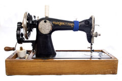 Vintage Sewing machine. Stock Photography
