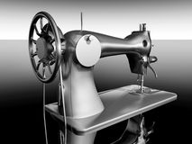 Vintage sewing machine Royalty Free Stock Images