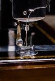 Vintage sewing machine Stock Photos