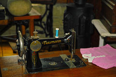 Vintage sewing machine Royalty Free Stock Photo