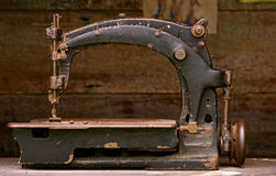 Vintage sewing machine Stock Photos