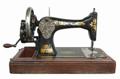 Vintage sewing machine Stock Images