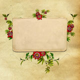 Vintage shabby chic background royalty free stock photography