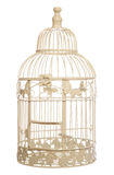 Vintage shabby chic bird cage Stock Photo
