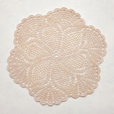 Vintage shabby chic doily Royalty Free Stock Photos