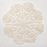 Vintage shabby chic doily Royalty Free Stock Photo