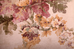 Vintage shabby floral background, toned image Stock Images