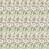 Vintage shabby floral wallpaper Royalty Free Stock Photos