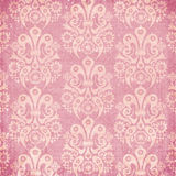 Vintage shabby ornament wallpaper royalty free illustration