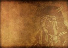 Vintage Shaman Background Royalty Free Stock Image