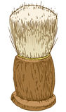 Vintage Shaving Brush Royalty Free Stock Photos