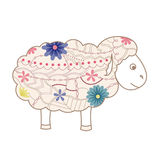 Vintage sheep Royalty Free Stock Photography