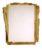 Vintage sheets of newspaper Royalty Free Stock Image