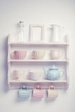 Vintage shelf Royalty Free Stock Photos