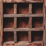 Vintage shelf Stock Image