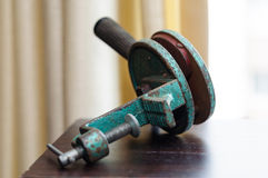Vintage Shell Reloading Extractor. Vintage hunting hand tool. Shotgun shell reloading extractor Royalty Free Stock Photo
