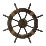 Vintage Ship Wheel Royalty Free Stock Images