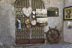 Vintage shop in Amalfi Stock Photography