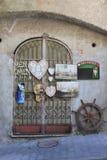 Vintage shop in Amalfi Stock Photo