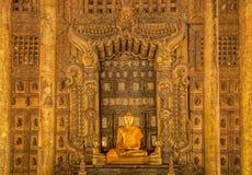 Vintage Shwenandaw Kyaung temple Royalty Free Stock Photo