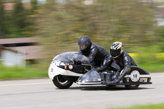Vintage sidecar Dickinson-BMW R51-3 from 1963 Stock Photo