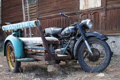 Vintage Sidecar Stock Image
