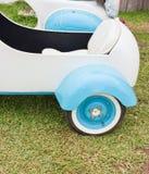 Vintage Sidecar's Wheel. Royalty Free Stock Photos