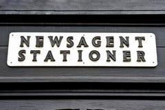 Vintage sign Stock Images