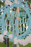 Vintage sign `Tiffany Candy Bar`. Vintage sign Tiffany Candy Bar , with nature behind it Royalty Free Stock Photos