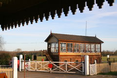 Vintage Signal Box Stock Photo