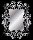 Vintage Silver Frame stock illustration