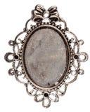 Vintage silver pendant Stock Photography