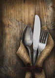 Vintage Silverware Royalty Free Stock Photo