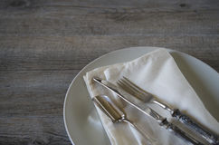 Vintage silverware Royalty Free Stock Photography