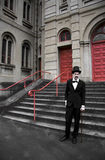 Vintage Sinister Man Royalty Free Stock Images