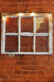 Vintage Six Pane Window Royalty Free Stock Images