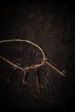 Vintage Skeleton Keys Royalty Free Stock Images