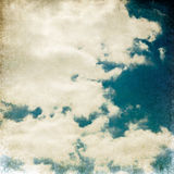Vintage sky. Stock Photos