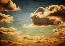Vintage sky background Royalty Free Stock Photos