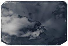 Vintage sky background Stock Image