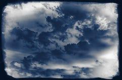 Vintage sky background Stock Photo