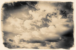 Vintage sky background Royalty Free Stock Photography